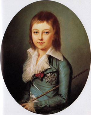 Louis Charles, son of Marie Antoinette