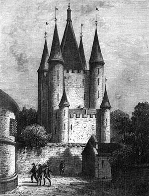 The Temple, Marie Antoinette's prison