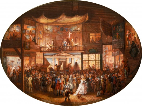 The Foire Saint Germain fair in 1763