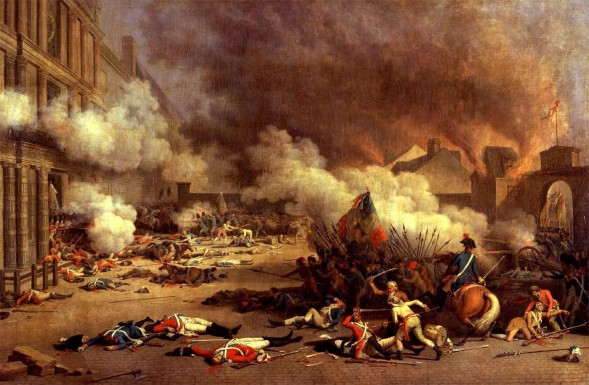The Assault on the Tuileries Palace